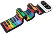 roll up piano iword 49 keys rainbow