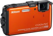 nikon coolpix aw100 orange photo
