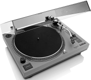 lenco l 3808 direct drive turntable with usb recording matt grey