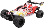 rc buggy land king 1 10 24g white red