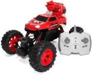 rc monster truck 2 in 1 supersonic 1 12 red