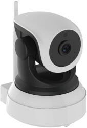 bionics robocam 5 hd 720p color ip camera white black
