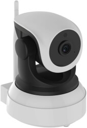 bionics robocam 6 hd 1080p color ip camera white black