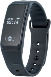 sportwatch forever sb 120 smart bracelet black