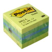 3m post it 2051l kitrino prasino 51mm x 51mm 400 fylla photo