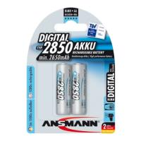 mpataria ansmann rechargeable nimh aa 2850mah 2 tem photo