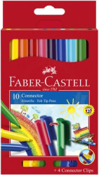 faber castell connector fiber pens 10 colors photo