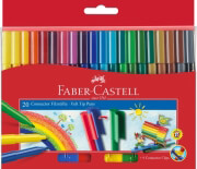 faber castell connector fiber pens 20 colors photo