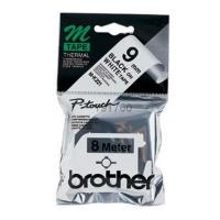 gnisio brother ptouch m k221bz white black 8m 9 mm oem mk221bz photo