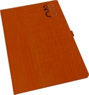imerologio ebdomadiaio 2020 woodline 17x24 portokali photo