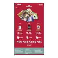 gnisio canon photo paper vp 101 variety pack a6 me oem 0775b078 photo