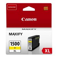 gnisio melani canon pgi 1500xl y gia maxify series yellow me oem 9195b001 photo