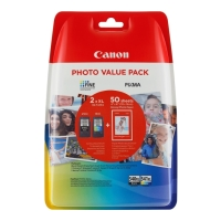 gnisio canon pg 540xl black tri color photo paper me oem 5222b013 photo