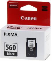 gnisio melani canon pg 560 pgbk black me oem 3713c001 photo
