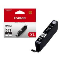 gnisio melani canon cli 551xl black me oem 6443b001 photo
