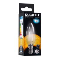 lamptiras duracell filament candle led e14 24w 2700k photo