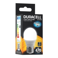 lamptiras duracell led g45 6w e27 2700k photo