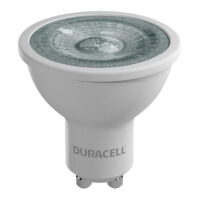 lamptiras duracell led gu10 7w dimmable 2700k photo