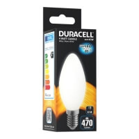 lamptiras duracell led e14 milky 4w 2700k photo