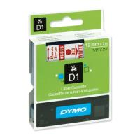 dymo etiketes d1 12mm red white 45015 s0720550 photo