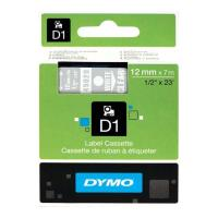 dymo xartotainia gia etiketografo d1 12 mm x 7 m white transparent 45020 s0720600 photo