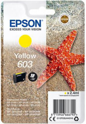 gnisio melani epson 603 yellow me oem c13t03u44010 photo