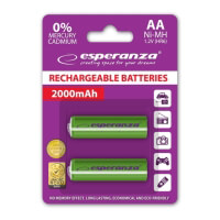 mpataries esperanza ni mh aa 2000mah green 2pcs photo