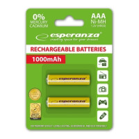 mpataries esperanza ni mh aaa 1000mah yellow 2pcs photo