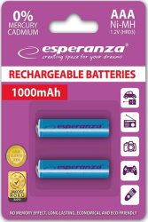 mpataries esperanza ni mh 3a 1000mah blue 2pcs photo