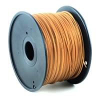 gembird abs plastic filament gia 3d printers 175 mm gold photo