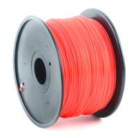 gembird abs plastic filament gia 3d printers 175 mm red photo