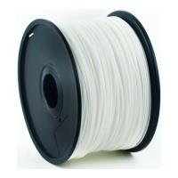 gembird abs plastic filament gia 3d printers 175 mm white photo