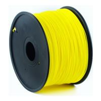 gembird abs plastic filament gia 3d printers 175 mm yellow photo