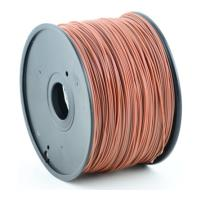 gembird abs plastic filament gia 3d printers 3 mm brown photo