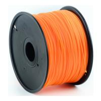 gembird abs plastic filament gia 3d printers 3 mm orange photo