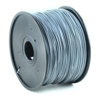 gembird abs plastic filament gia 3d printers 3 mm silver photo