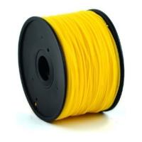 gembird hips plastic filament gia 3d printers 3 mm golden yellow photo