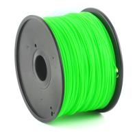 gembird pla plastic filament gia 3d printers 3 mm green photo
