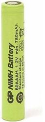 rechargeable battery gp r03 aaa 80aah b 800mah nimh 1pc bulk industrial gp photo
