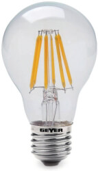 lamptiras geyer led filament e27 6w 800lm diafani 2700k photo