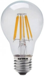 lamptiras geyer led filament e27 6w 600lm diafani 4000k photo