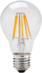 lamptiras geyer led filament clear a60 e27 8w 2700k 900lm photo