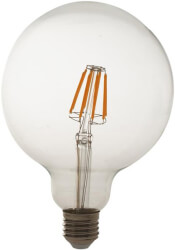 lamptiras geyer led filament clear g95 e27 5w 2700k 600lm photo