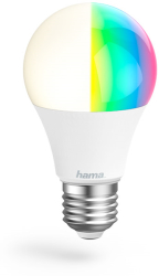 lamptiras hama 176547 wifi led light e27 10w rgb can be dimmed photo