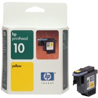 gnisia kefali hewlett packard no 10 yellow print head me oem c4803a photo
