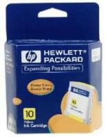 gnisio melani hewlett packard no 10 yellow ink crtr me oem c4842a photo
