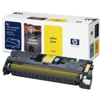 gnisio hewlett packard yellow toner me oem c9702a photo