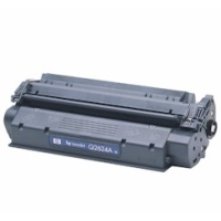 gnisio hewlett packard black toner no 24a me oem q2624a photo