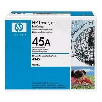 gnisio hewlett packard black toner no 45a me oem q5945a photo