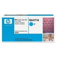 gnisio hewlett packard cyan print cartridge me colorsphere toner me oem q6471a photo